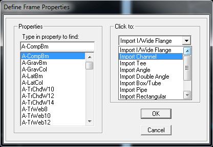 از لیست سمت راست Import Channel را انتخاب کنید.